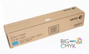 Тонер-картридж голубой Xerox DC 7000/8000