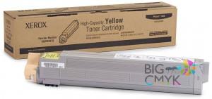 Тонер-картридж желтый (увелич.) Phaser 7400