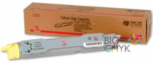 Тонер-картридж (8K) желтый Xerox Phaser 6250