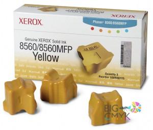 Чернила желтые Xerox Phaser 8560