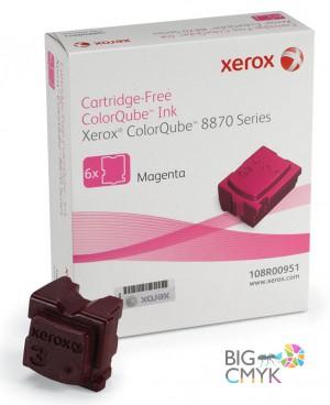 Чернила малиновые Xerox ColorQube 8870/8880
