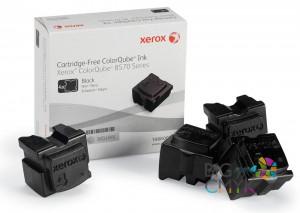 Чернила черные (8,6K) Xerox ColorQube 8570/8580