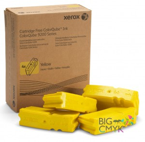 Чернила желтые Xerox CQ 9201/9202/9203/9301/9302/9303