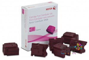 Чернила малиновые Xerox ColorQube 8900