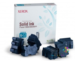 Чернила голубые Xerox Phaser 8860/8860MFP