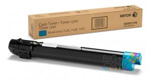 Тонер-картридж голубой WC 7425/7428/7435 (metered)