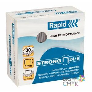 Скобы Rapid 24/6 усиленные (5000 шт.)