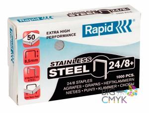 Скобы Rapid 24/8+ усиленные (5000 шт.)