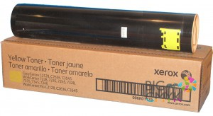 Тонер-картридж желтый (Yellow) Xerox WC 7228