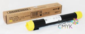 Тонер-картридж желтый (15K) Xerox WorkCentre 7525-7556/7830-7855/7970