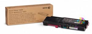 Тонер-картридж пурпурный (2K) Phaser 6600/WC 6605