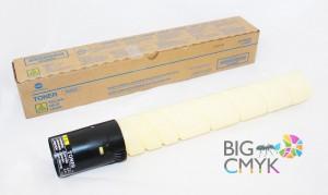 Тонер желтый Konica-Minolta bizhub C220