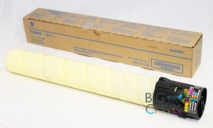 Тонер желтый TN-321Y Konica-Minolta bizhub C224/C284/C364