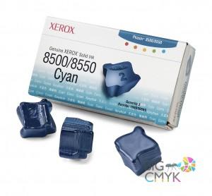 Чернила голубые (3 шт.) Xerox Phaser 8500/8550