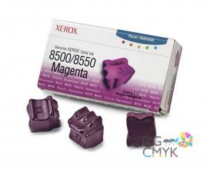 Чернила пурпурные (3 шт.) Xerox Phaser 8500/8550