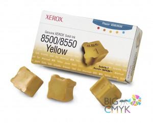 Чернила желтые (3 шт.) Xerox Phaser 8500/8550