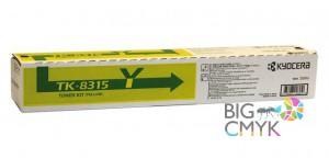 Тонер-картридж жёлтый TK-8315Y Kyocera TASKalfa 2550ci
