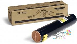 Тонер желтый Xerox Phaser 7760 Metered