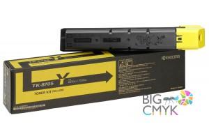 Тонер-картридж желтый TK-8705Y Kyocera TASKalfa 6550ci/7550ci