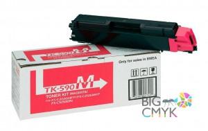 Тонер-картридж пурпурный TK-590M Kyocera FS-C5250DN/C2026/2126/2526/2626MFP/P6026CDN