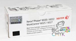 Тонер-картридж черный (2K) Xerox Phaser 6020/6022 WC 6025/6027