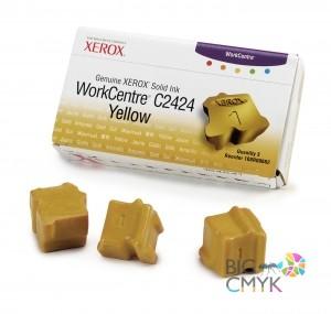 Чернила желтые (3 шт.) Xerox WC C2424
