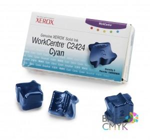 Чернила голубые (3 шт.) Xerox WC C2424