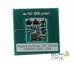 Чип малиновый (22K) Xerox 700/770/C75/J75