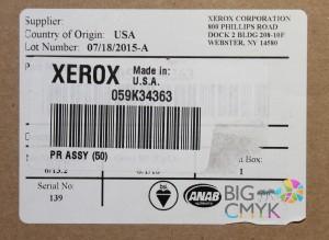 Вал прижимной фьюзера в сборе Xerox IGEN3