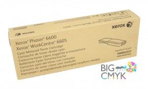 Тонер-картридж голубой (6K, PagePack/Metered) Xerox Phaser 6600/WC 6605