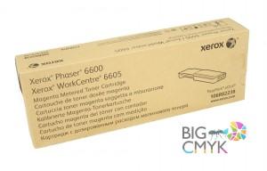 Тонер-картридж красный (6K, PagePack/Metered) Xerox Phaser 6600/WC 6605