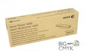 Тонер-картридж желтый (6K, PagePack/Metered) Xerox Phaser 6600/WC 6605